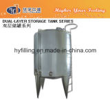 Double Layers Vertical Type Mixing Storage Tank