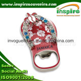 Zinc Alloy Slipper Fridge Magnet for Souvenir