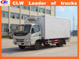 Frozen Food Cold Drink for 3ton Refrigerated Box Van Truck