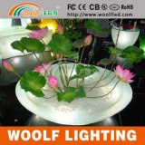 Glow Flower Vase Modern LED Garden Home Decoration
