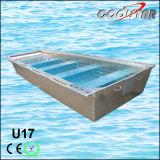 17FT 2.0mm Thickness U Type Flat Bottom Aluminium Fishing Boat