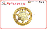 High Quality Gold Plated Police Badges