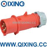Cee 4pins Waterproof Plastic Industrial Plug (QX252)