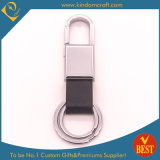 China Customized High Quality Your Own Logo Leather Key Chain at Factory Price