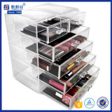 Fashion Acrylic Makeup Drawer Storage Organizer with Dividers