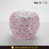 Crystal Texture Glass Candle Holder