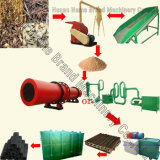 Wood Sawdust Straw Stalk Shell Briquette Machine, Wood Briquette Press, Biomass Briquette Machine (ZBJ-III)