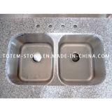 Granite Double Vanity Wash Basin / Sink for Kitchen, Bathroom, Bar