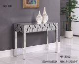 2017 Living Room Home Decor Venetian Mirrored Console Table