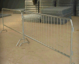 Wholesale Portable Galvanized Steel Crowd Control Barrier
