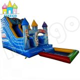 Frozen Infltable Jumping Bouncer Slide with Pool for Sale