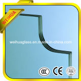 16.76mm Clear / Milk White / Gray / Bronze Laminated Glass for Building with Ce / ISO9001 / CCC