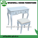 Wood Dressing Table with Stool Without Mirror (W-LZ-509)