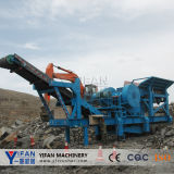 High Performance Mobile Concrete Jaw Crusher