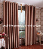 100%Polyester Light Proof Curtain with Fleece Surface Blackout Curtain (WLC001)