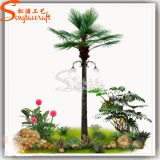 Beautiful Outdoor Decoration Lighting Artificial Light Plastic Palm Tree