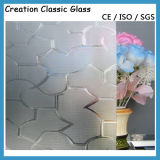 4mm Clear Nashiji Glass Karatachi Glass Patterned Glass 1700*2000mm