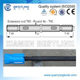 Top Hammer Drill Rod Drill Bar with Thread Drill Bits