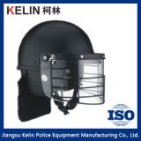 African Style Full Face Anti Riot Helmet with Metal Grid