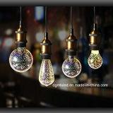3D firework LED bulb light table lamp colorful Globe firework light bulb