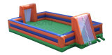 Soccer Field with Groundsheet Interactive Game Inflatable Toy Inflatable Sports Game
