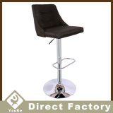 New Design Fabric Bar Chair with Metal Base