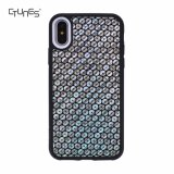 Premium Texture Leather Ultra Slim Fit Protective TPU Bumper mobile Phone Cases for iPhone X 5.5 Inch