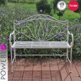 Elegant Fashion Decorative Metal Wrought Iron Bench