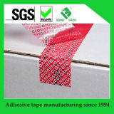 Custom Printed Tamper Evident Security Carton Sealing Void Open Tape