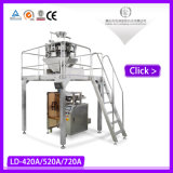 Horizontal Donuts Packing Machinery with Pillow Bag Design