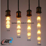 Tube shape new arrival starry LED bulb T125/185/225/300 decorative lighting bulb
