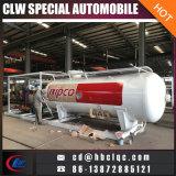 Customized 25m3 12500kg Mobile Refilling LPG Skid Station