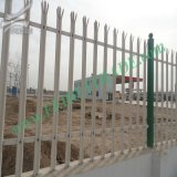 Plastic Coated Metal Picket Palisade Fece