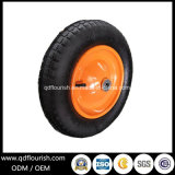 Steel Rim Pneumatic Rubber Wheel for Garden Tool Cart