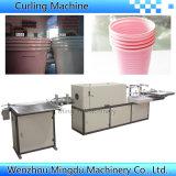 Plastic Water Cup Rim Rolling Machine