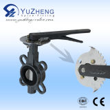 Grib Type Industrial Wafer Butterfly Valve