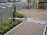 WPC/Wood Plastic Composite Decking Passed CE, SGS, ISO, WPC Outdoor Decking (YT, 90)