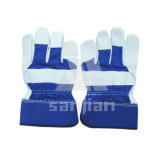 Safe Industrial Leather Hand Working Gloves