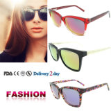 Cheap Wholesale Sunglasses UV 400 Ce Sunglasses Italian Acetate Sunglasses with Ce and FDA