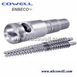 ABS. PP. PVC. PE Raw Material Conical Twin Screw Barrel