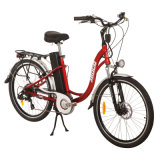 Elegant 26 Inch Aluminum Alloy & 36V/10ah Lithium Battery Electric Bicycle (JB-TDF01Z)