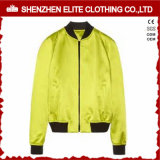 2016 Newest Design Yellow Man Baseball Satin Jacket (ELTBJI-34)