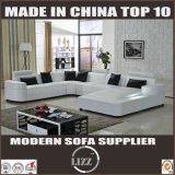 Sitting Room U Shape Corner Leather Sofa