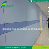 Light Blue Waterproof / Anti-Bacterial Indoor Wall Cladding