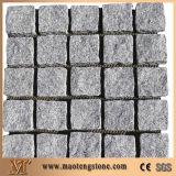 Granite Paving Stone on Net, Natural Granite Paver, Cube Stone