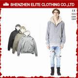 Winter Man Factory Price Casual Fleece Grey Hoodie (ELTHSJ-1161)