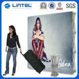 Fabric Pop up Banner Stand Aluminum Backdrop