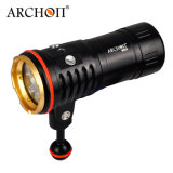 Archon Future Technology Wm26 White Red Blue LED Scuba Diving Underwater 100m Video Camera Photography Light Torch Flashlight (Torch + Battery + charger)