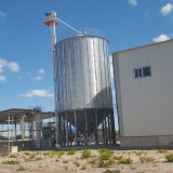 Hot-Galvanized Steel Silos for Wheat Grain
