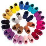 Fashion Nubuck & Tassels Infant Toddler Moccasins Soft Sole Baby Shoes